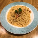 プリマベーラ - ウニのクリームソーススパゲッティ