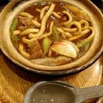 藤蔵 - 料理写真:藤蔵御膳の煮込みうどん