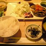 さち福や CAFE - 鯖の唐揚 トマトとバジルのイタリアンソース定食