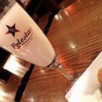 小樽 ニュー三幸 - 蝦夷之誉(二世古活性酒);活性は既に随分落着いてました(^^;) @2018/04/06
