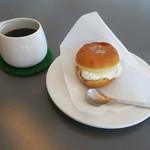 83784003 - クリームバーガー&吉岡コーヒー(名古屋)ネパール×マンデリン極深