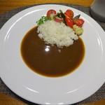 83785331 - メイン:ソースキュリー 季節野菜の蒸し焼き