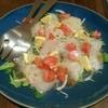 はなび - 料理写真:ヒラメのカルパッチョ