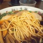 麺や 太華 - 中華そばは平麺