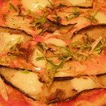 ピッツェリア マリノ - 茄子のピザ