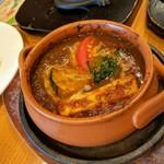 83792218 - 焼き野菜カレー スパイスぶわっ!