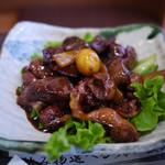 奥藤本店 - 料理写真:鳥もつ煮~☆