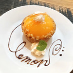 CoffeeLounge Lemon - シチリアからきたレモンタルト(600円)