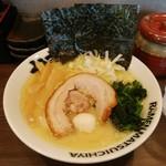 松壱家 - 豚骨塩ラーメン