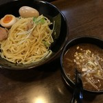 TOKYO 鶏そば TOMO - 鶏濃厚魚介味玉つけ麺