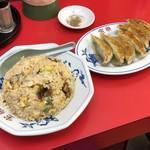83796935 - 炒飯と餃子