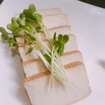 菜香餃子房 - 燻製豆腐  300円