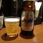 大一番 - ドリンク写真:瓶ビール(680円)