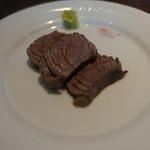 スカイダイニング アブ - 牛肉の鉄板焼き