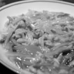 """中国飯店 - """"白菜雞絲蟹肉(かにとにはとりほそぎりのはくさいにこみ) """""""