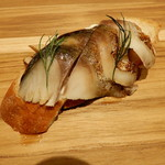 T's Kitchen - 炙り〆鯖のブルスケッタ