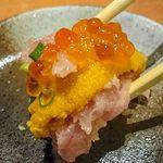 二代目叶え家 ゆとり - こぼれ寿司2