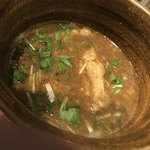 二代目えん寺 - 鶏肉インスープ ぶ厚めで嬉しい♪