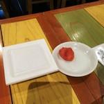 """寅""""むすこ食堂 - 納豆と明太子が付いてきます"""