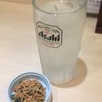 四谷 政吉 - ソバッチュとサービスの揚げ蕎麦