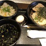禅 - 冷たい肉そば@880円