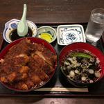 そば蔵 - メガソースかつ丼\1,200