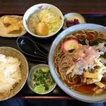 Tamanoya - ころランチ(そば)¥730