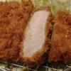 富金豚 - 料理写真:長野県産信州米豚の厚切りロースとんかつ御膳