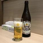 麺屋 海猫 - お仕事終わりのビールは最高!
