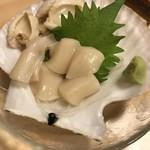浜小家 - ホタテの刺身