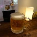 BOSSA BURGER - 生ビールハートランド648円