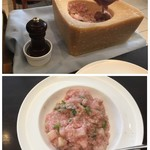 BUONO - カブとビーツペーストのパルメザンチーズリゾット