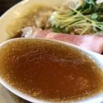 らーめん 稲荷屋 - ワンタン麺