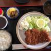 香楽 - 料理写真:ロースカツ定食