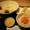 うどん処 松 - 料理写真:ちくたま天ぶっかけセット