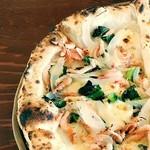 PAZZO-DI-PIZZA GYODA - 料理写真:桜えびと新たまねぎのピッツァ‼