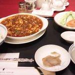 Chuugokuryouritouen - 四川麻婆豆腐ランチセット