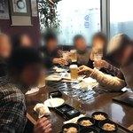 磯金 漁業部 枝幸港 - 8人で個室で飲み放題食べまくり♪