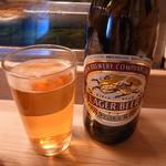 金井寿司 - 瓶ビール