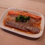 金井寿司 - 白魚・蟹の身・シャコ