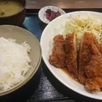 キッチンハウスマスダ - チキンカツ 750円
