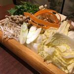 九州地鶏屋 鍋弁慶 - 馬肉のしゃぶしゃぶ!ボリューム満点!