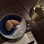 83825130 - 竹の子の天ぷらと白ワイン。