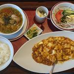 83826795 - 麻婆豆腐定食
