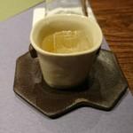 九つ井 - 梅酒の食前酒