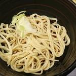 九つ井 - 〆の蕎麦