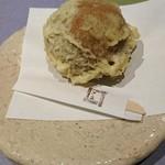 九つ井 - 焼きまんじゅうのデザート