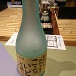 九つ井 - 自家ブランドの冷酒