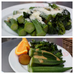 クッチーナ デル カンポ - サラダバーで野菜たっぷり