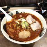 らー麺 武蔵 - 料理写真:火っ火麺(レベル2)